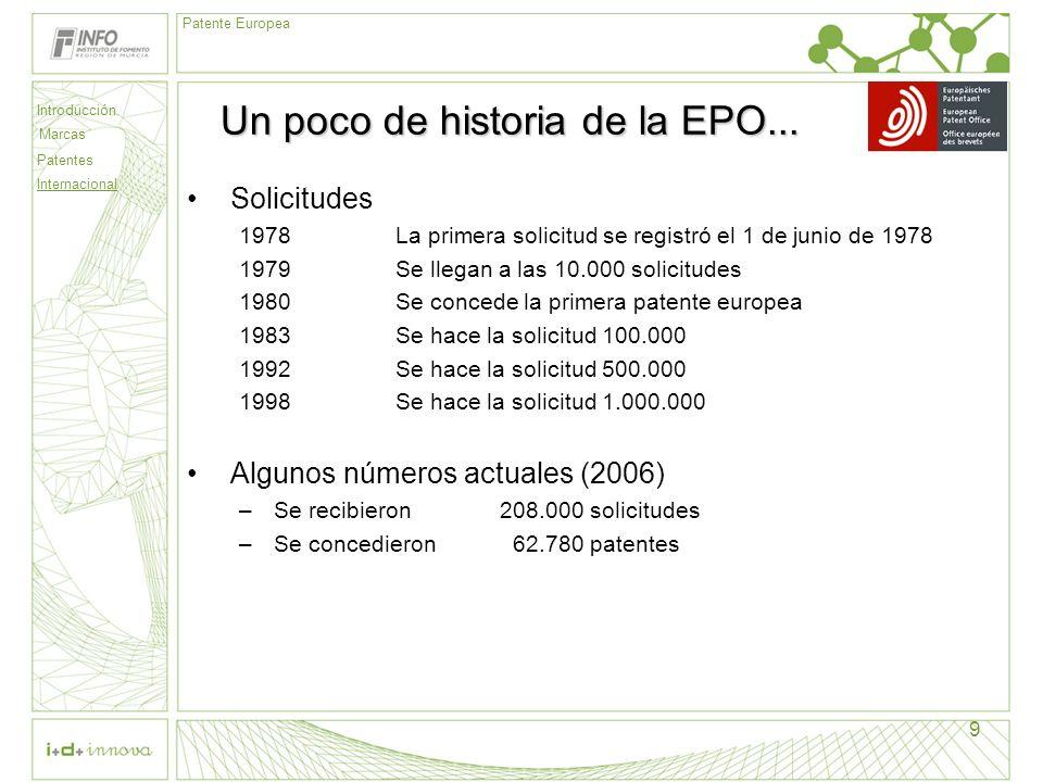 Un poco de historia de la EPO...