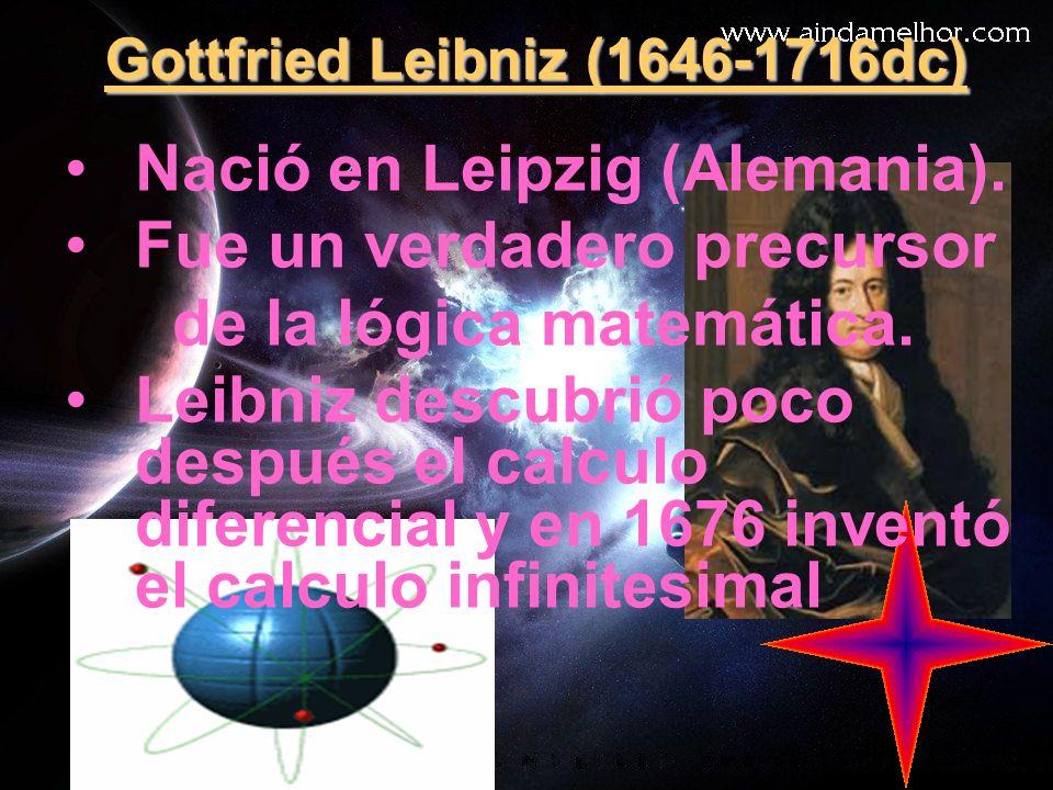 Gottfried Leibniz (1646-1716dc)