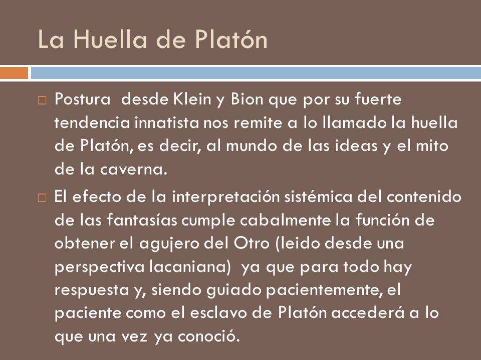 La Huella de Platón