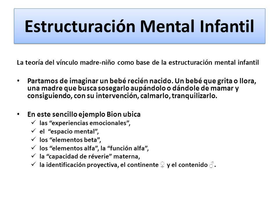 Estructuración Mental Infantil