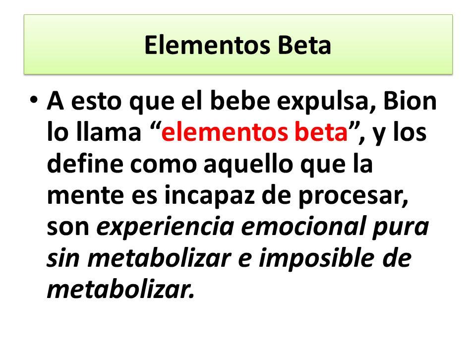 Elementos Beta