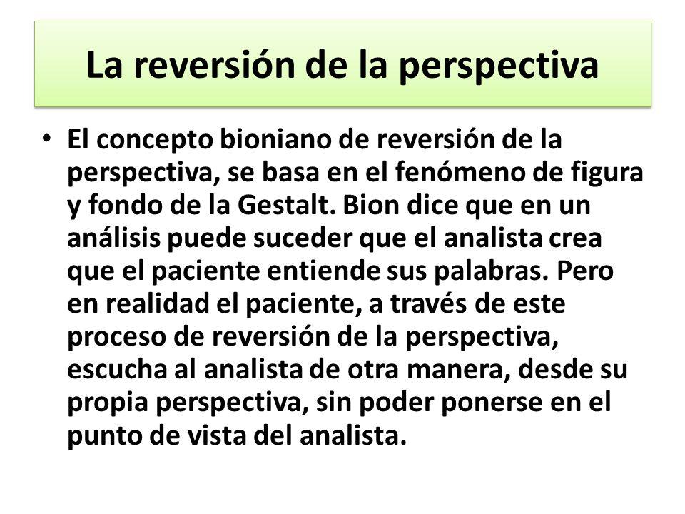 La reversión de la perspectiva
