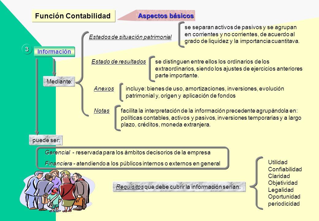 Función Contabilidad Aspectos básicos