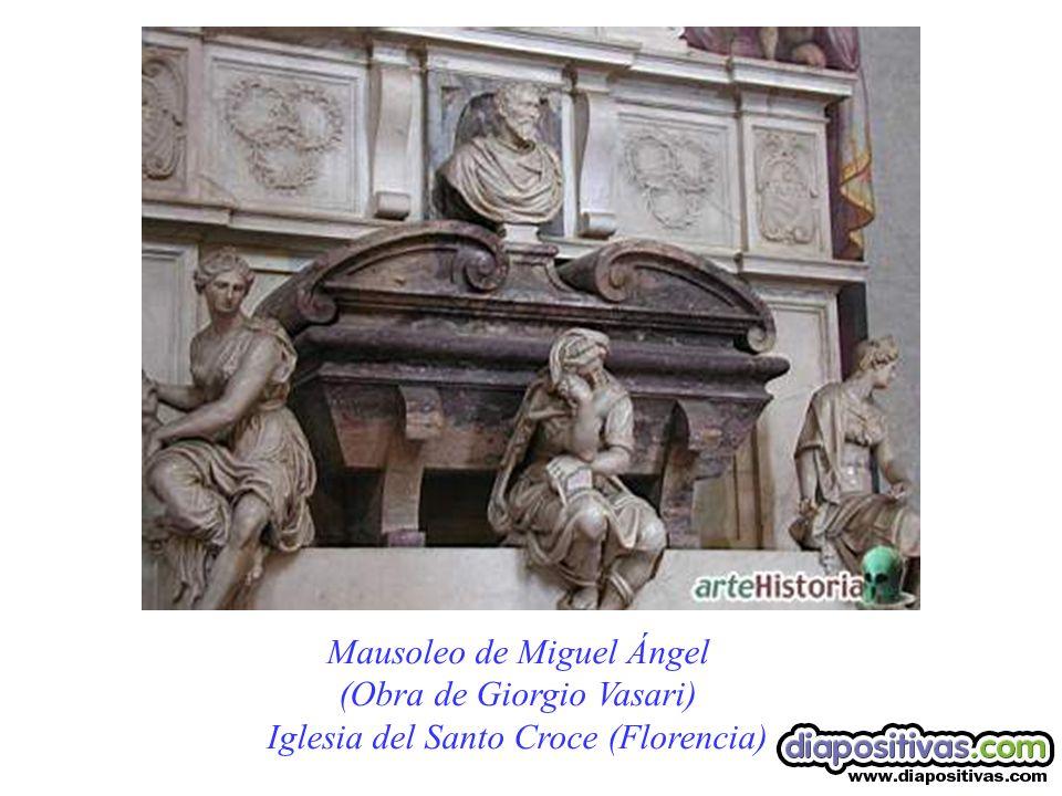 Mausoleo de Miguel Ángel (Obra de Giorgio Vasari)