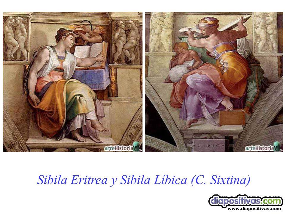 Sibila Eritrea y Sibila Líbica (C. Sixtina)