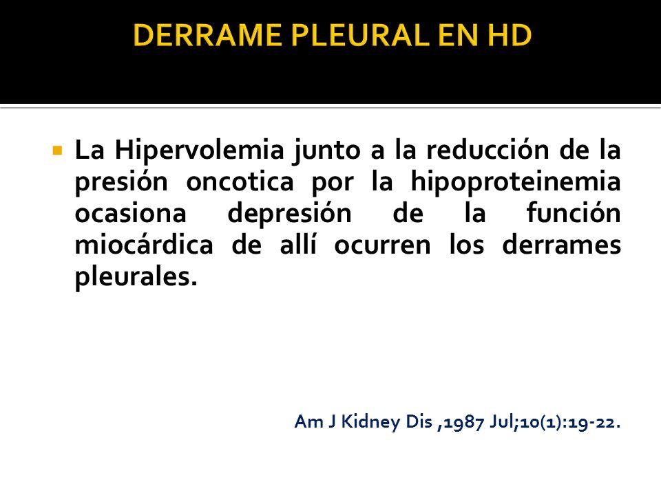 DERRAME PLEURAL EN HD