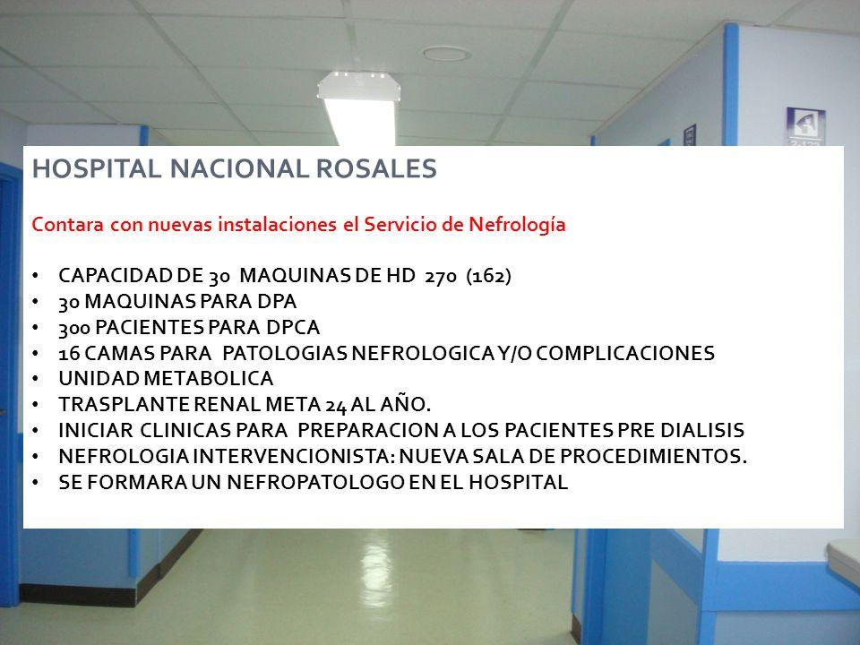 HOSPITAL NACIONAL ROSALES