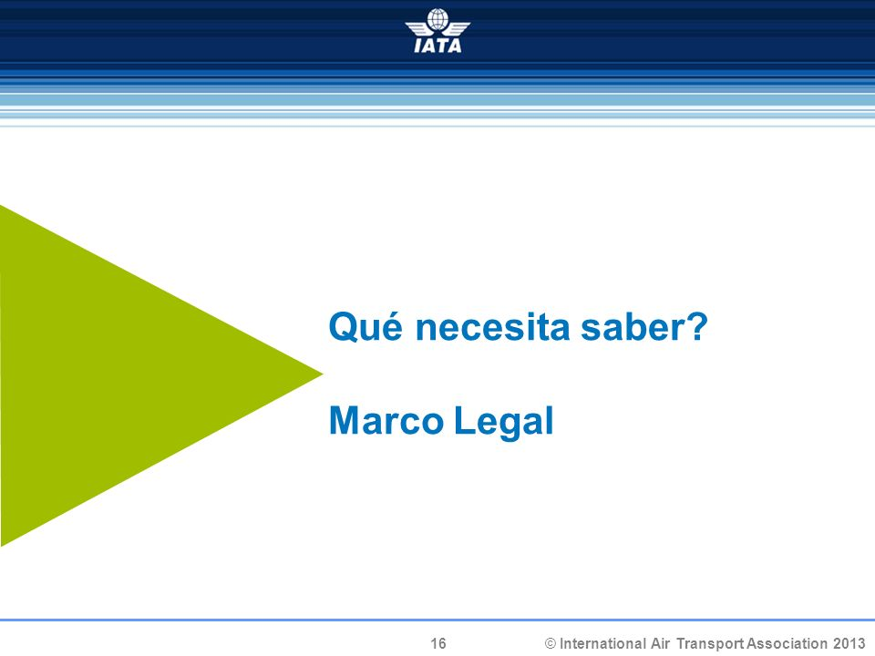 Qué necesita saber Marco Legal