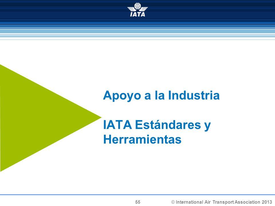 Apoyo a la Industria IATA Estándares y Herramientas