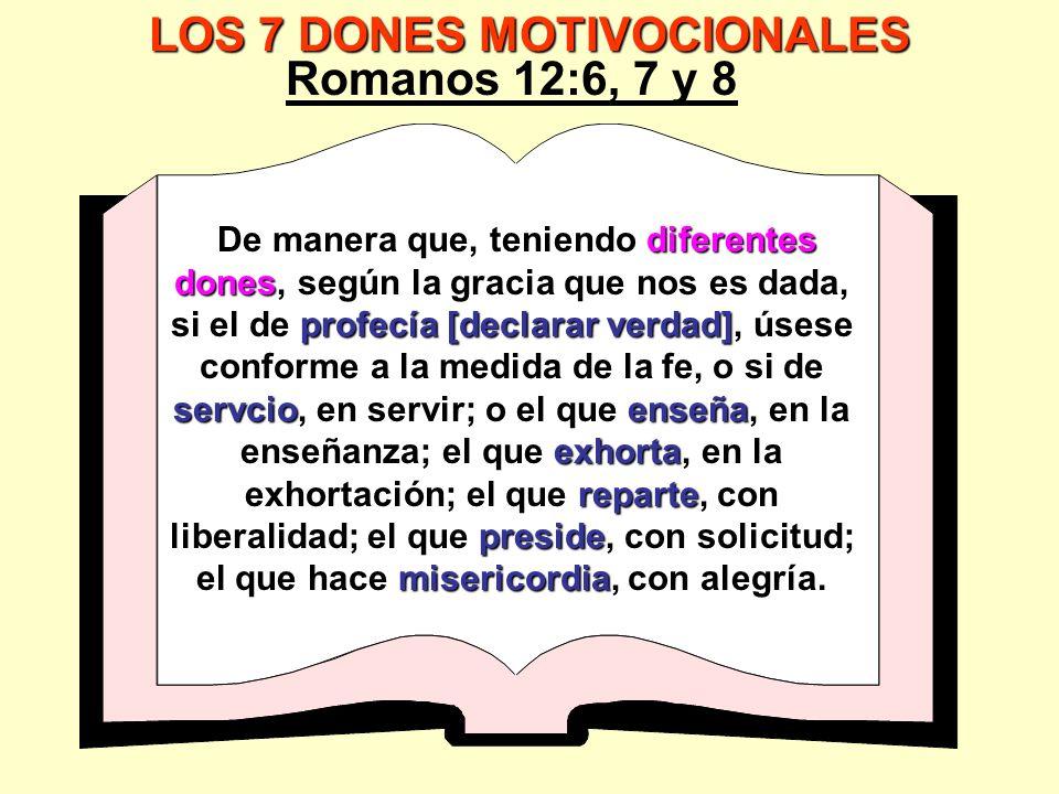 LOS 7 DONES MOTIVOCIONALES