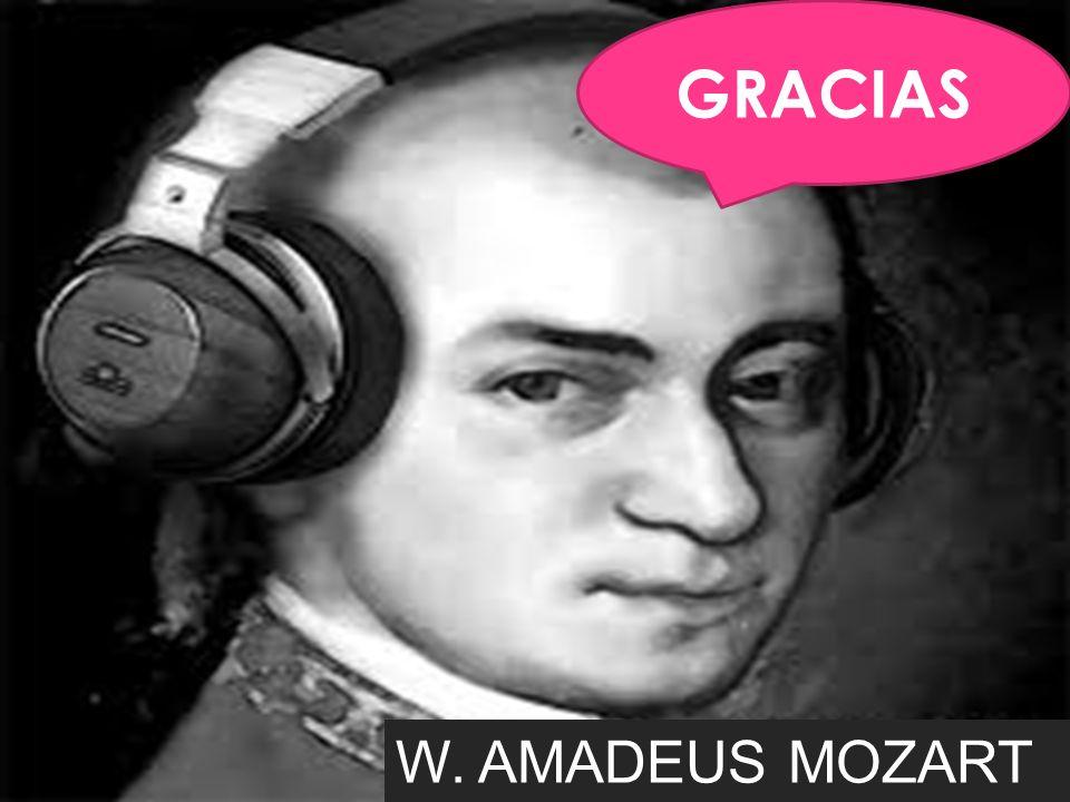 GRACIAS W. AMADEUS MOZART