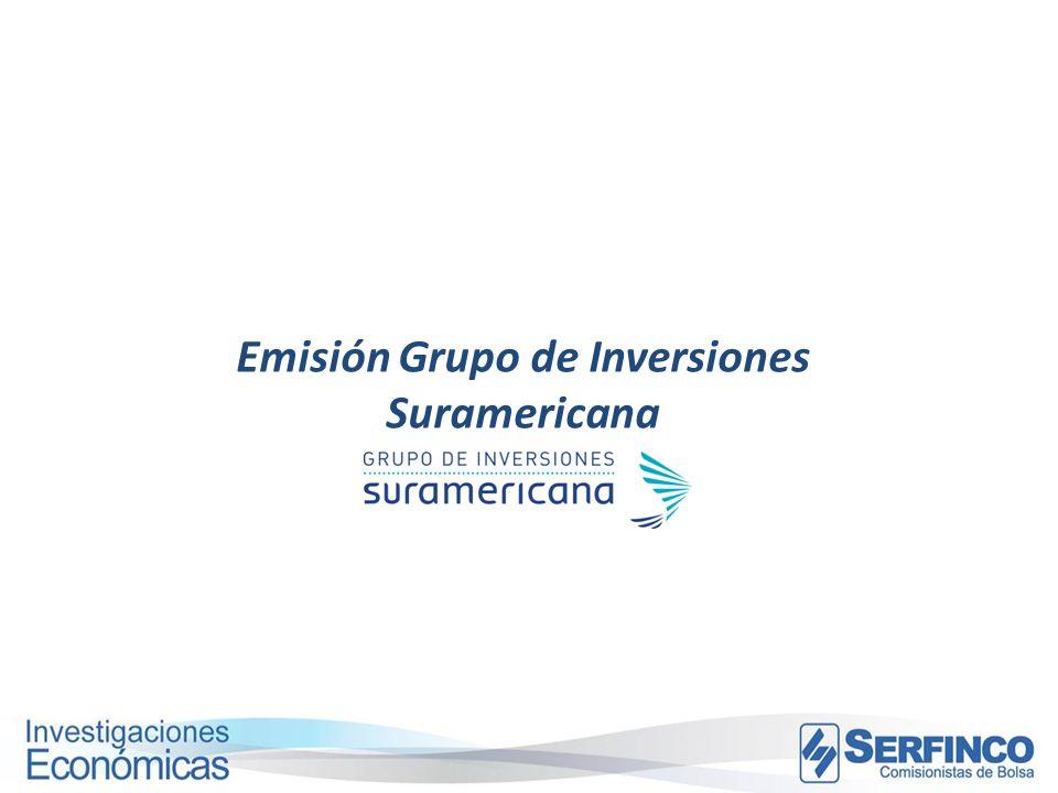 Emisión Grupo de Inversiones Suramericana