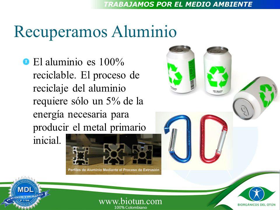 Recuperamos Aluminio