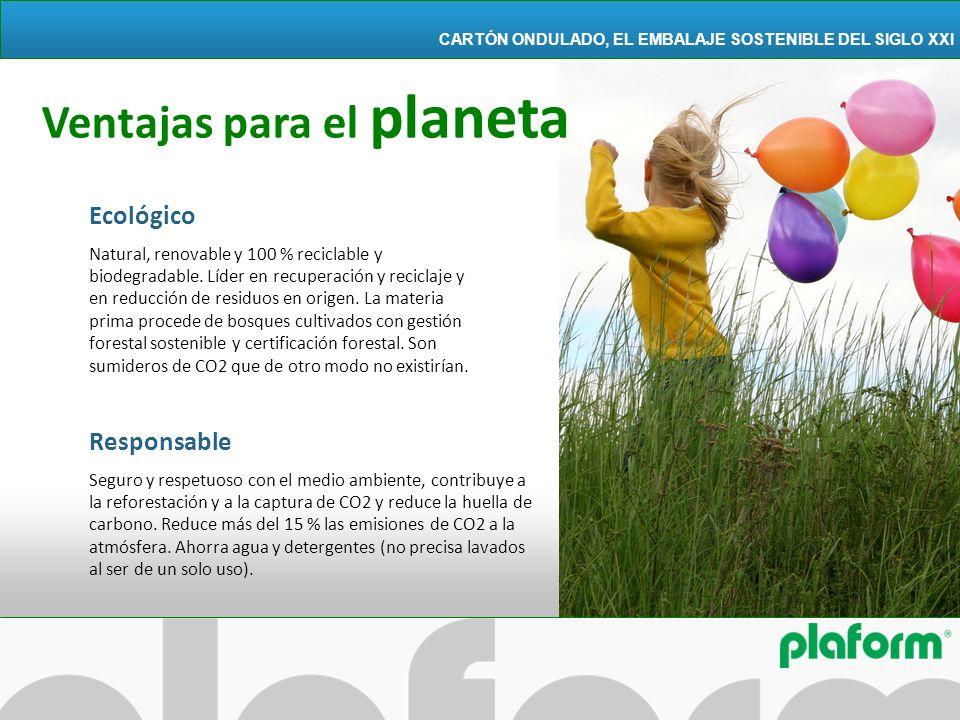 Ventajas para el planeta