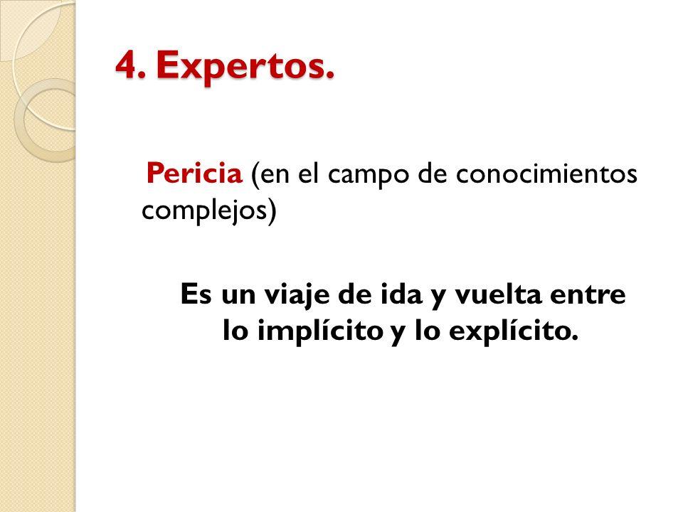 4. Expertos.