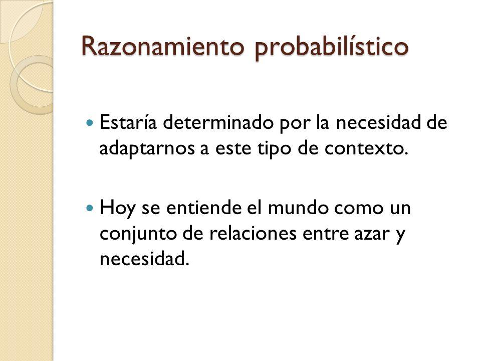 Razonamiento probabilístico
