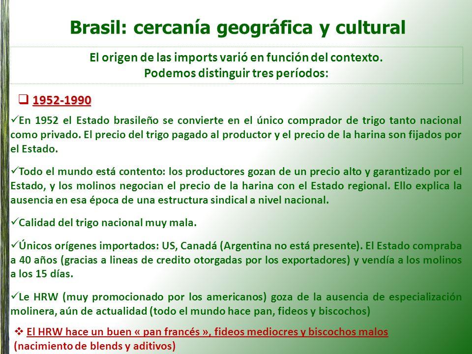 Brasil: cercanía geográfica y cultural