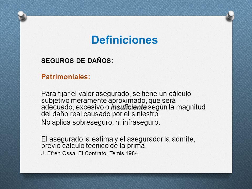 Definiciones Patrimoniales: