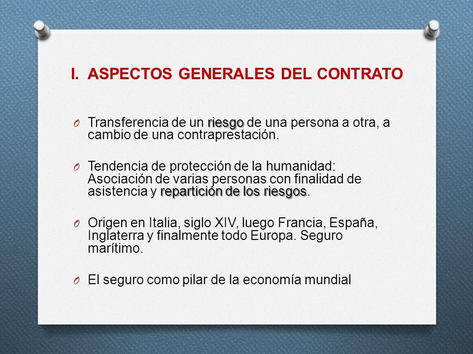 I. ASPECTOS GENERALES DEL CONTRATO