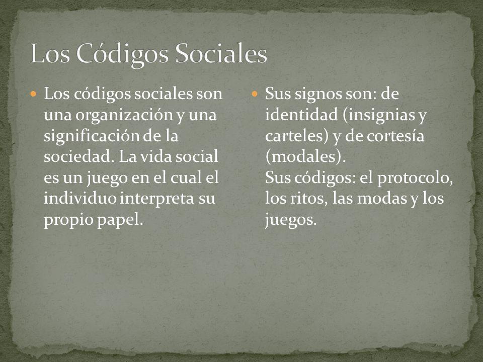 Los Códigos Sociales