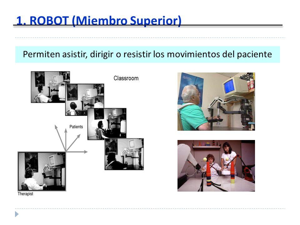 1. ROBOT (Miembro Superior)