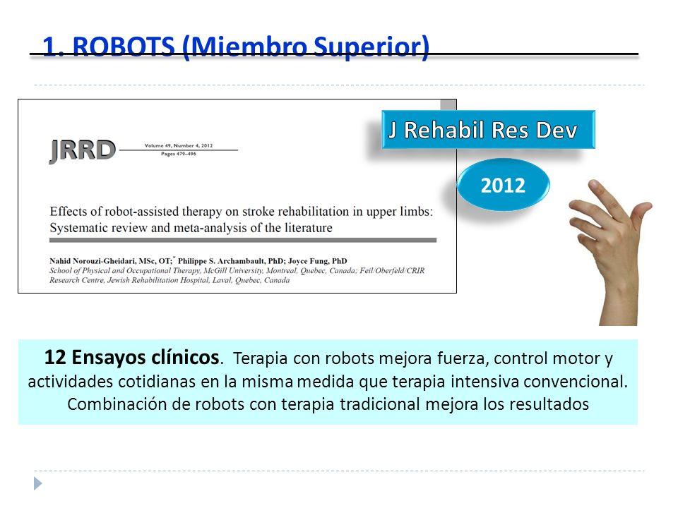 1. ROBOTS (Miembro Superior)