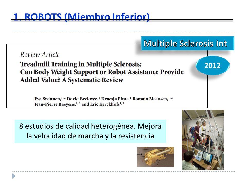 1. ROBOTS (Miembro Inferior)