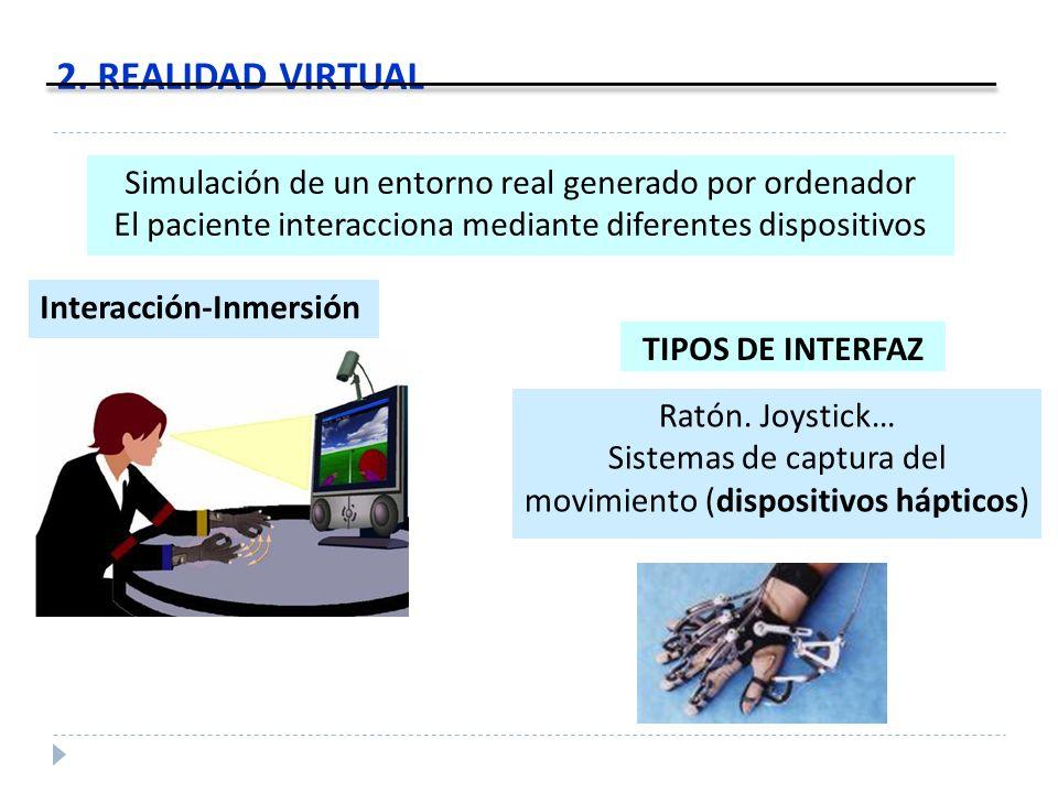 Sistemas de captura del movimiento (dispositivos hápticos)