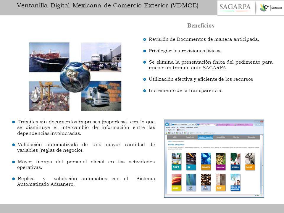Ventanilla Digital Mexicana de Comercio Exterior (VDMCE)