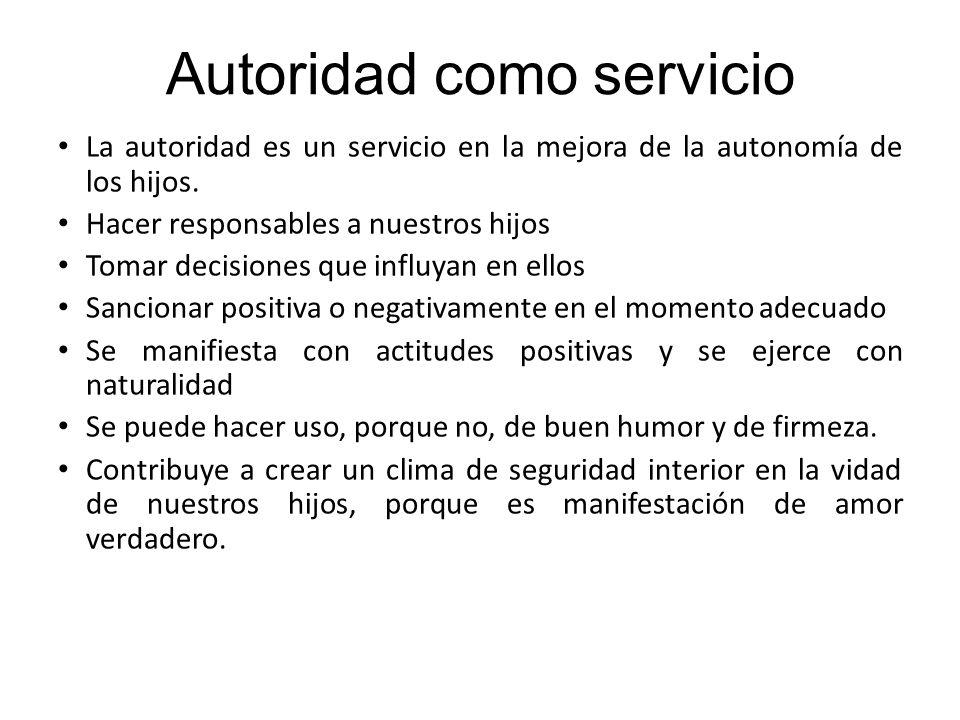 Autoridad como servicio