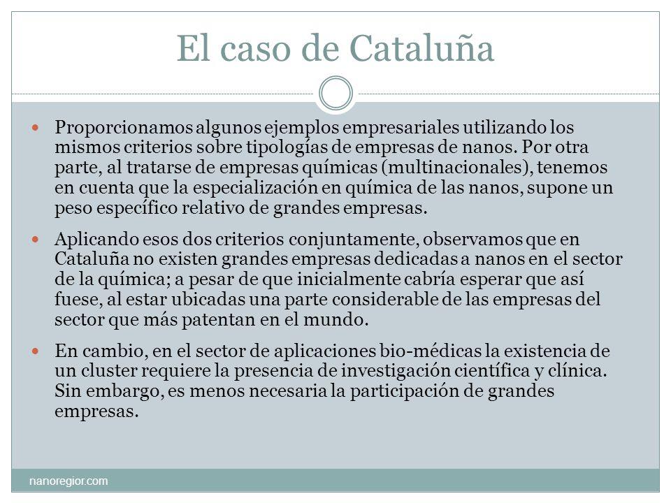 El caso de Cataluña