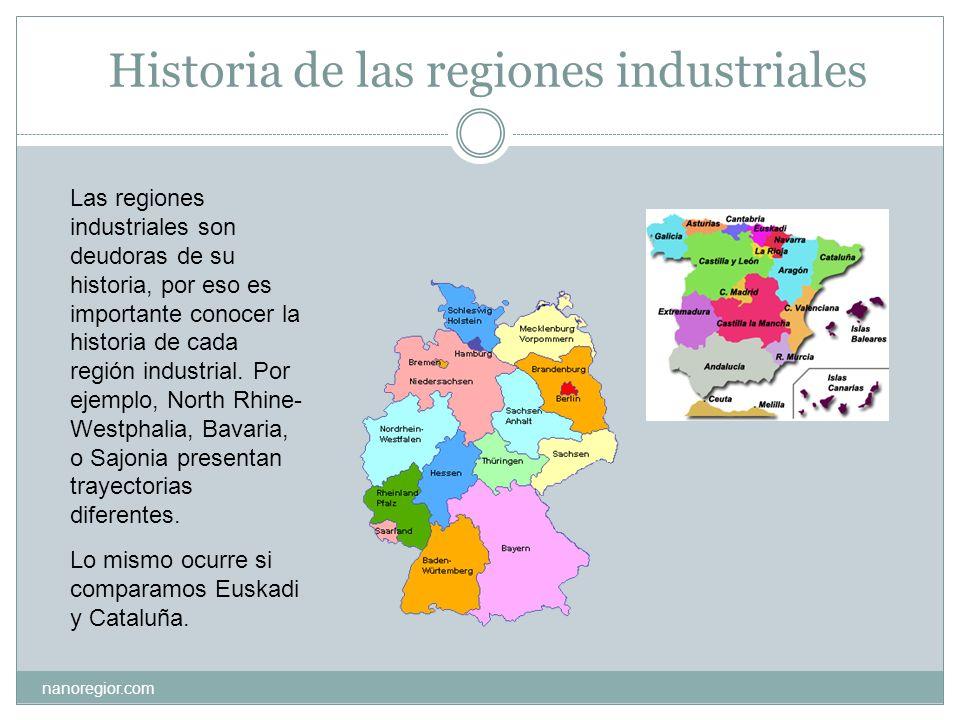 Historia de las regiones industriales