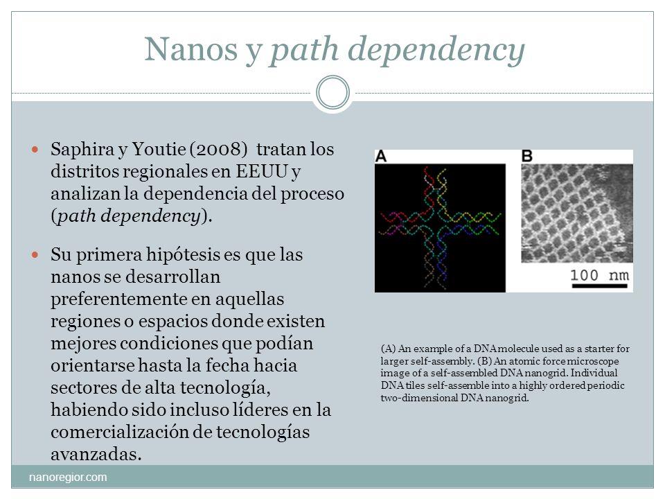 Nanos y path dependency