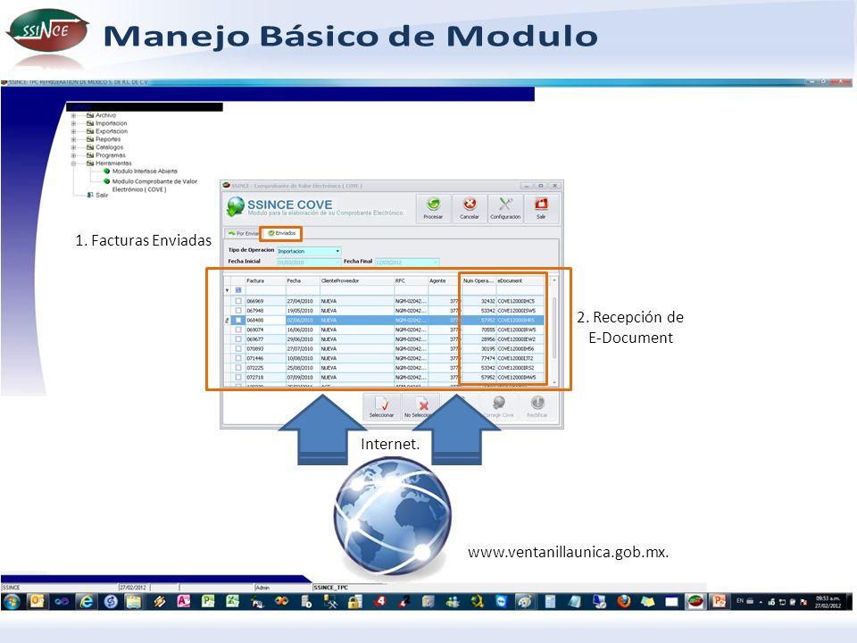 2. Recepción de E-Document