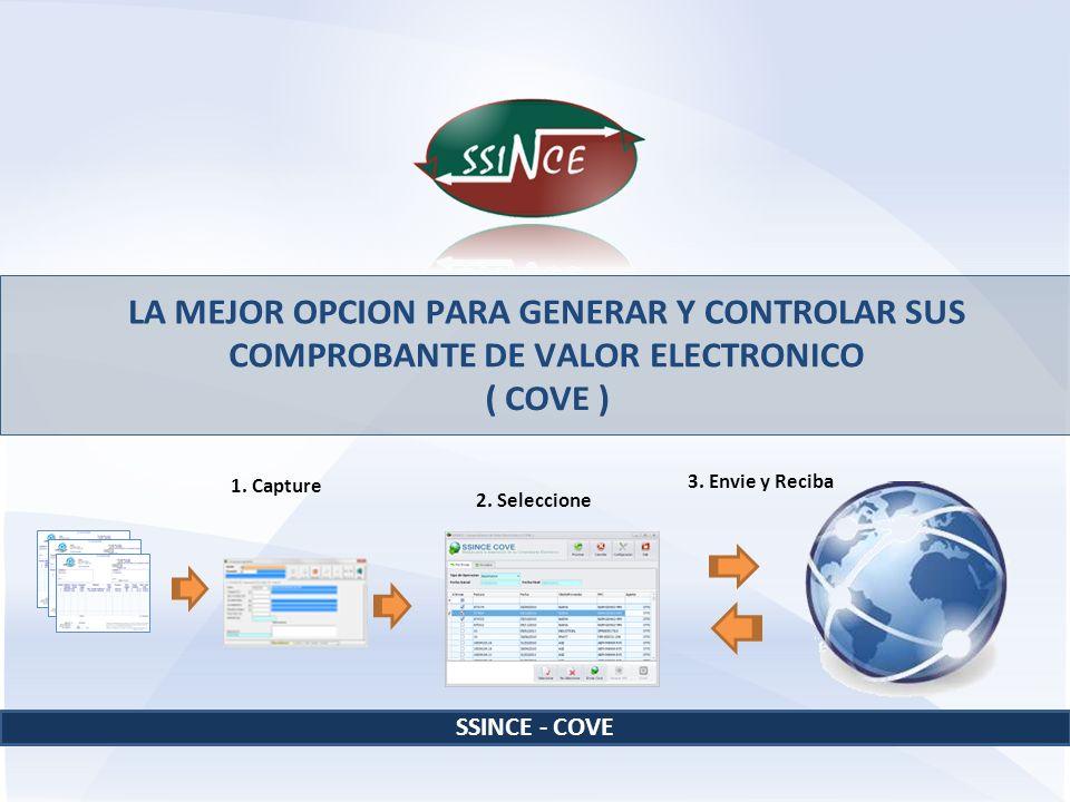 LA MEJOR OPCION PARA GENERAR Y CONTROLAR SUS COMPROBANTE DE VALOR ELECTRONICO