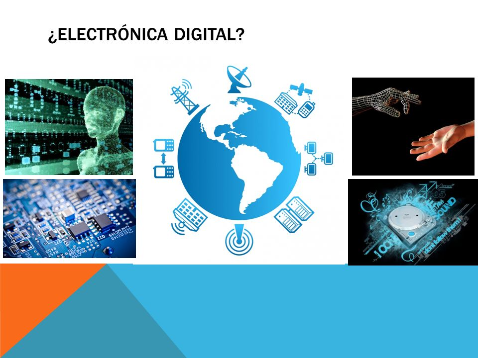 ¿Electrónica digital