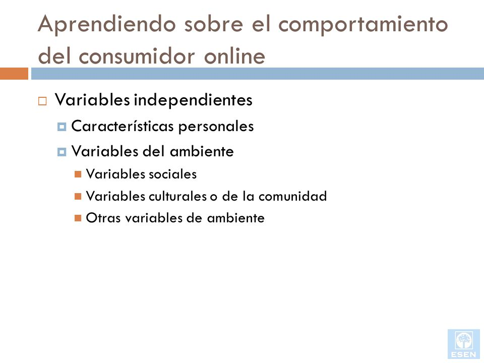 Aprendiendo sobre el comportamiento del consumidor online