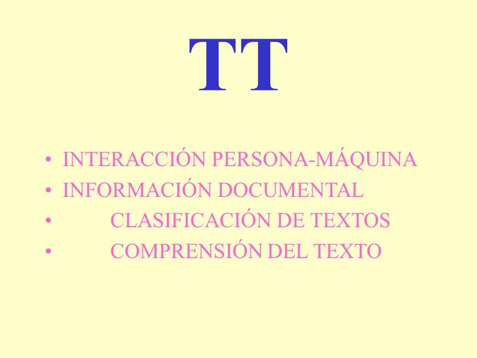 TT INTERACCIÓN PERSONA-MÁQUINA INFORMACIÓN DOCUMENTAL