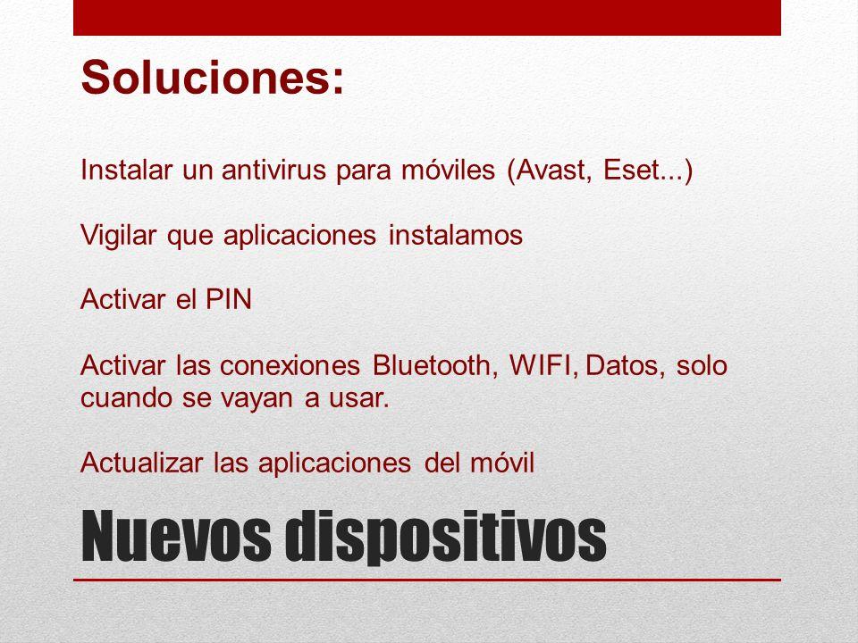 Nuevos dispositivos Soluciones: