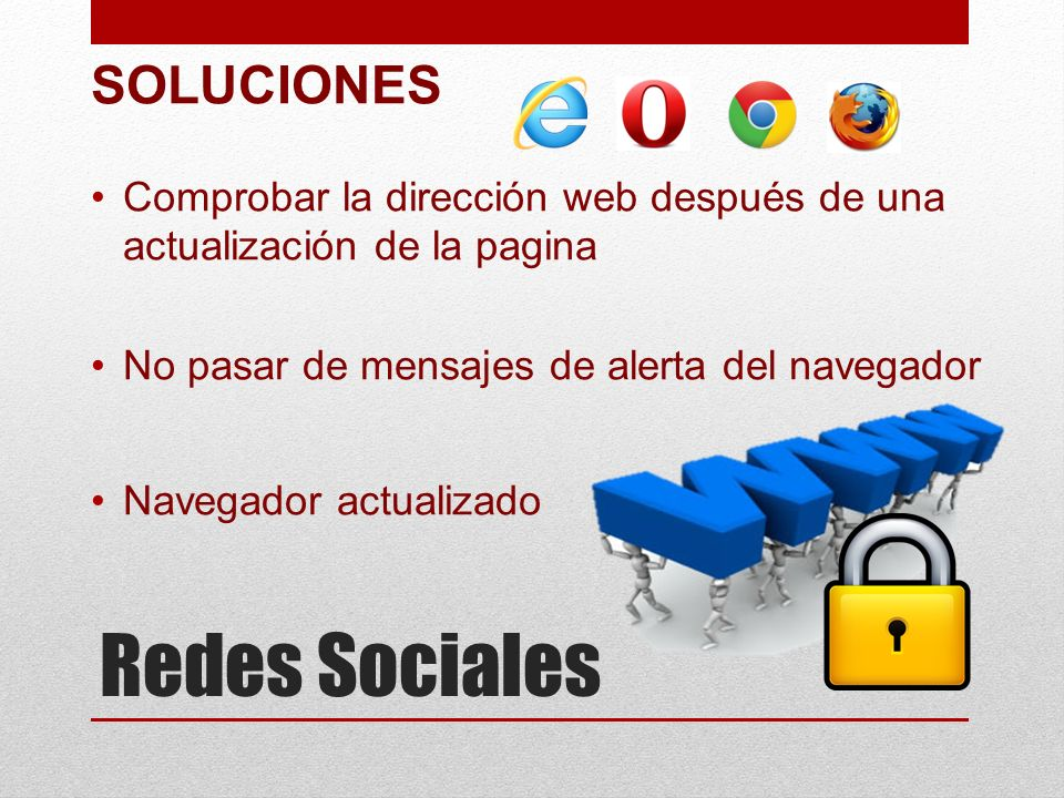 Redes Sociales SOLUCIONES
