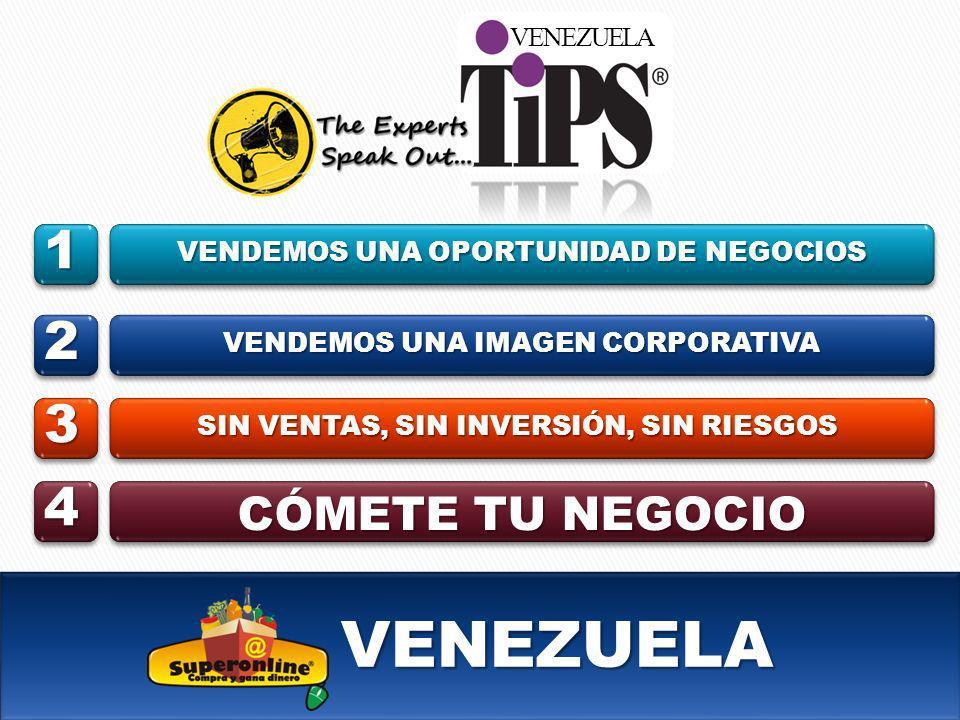VENEZUELA 1 2 3 4 CÓMETE TU NEGOCIO VENEZUELA