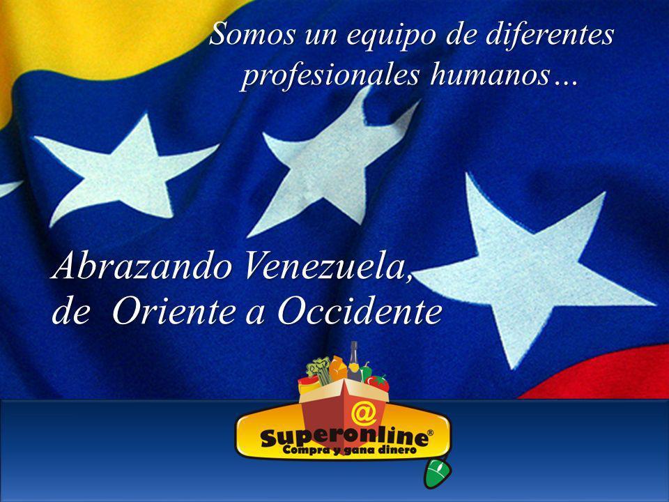 Abrazando Venezuela, de Oriente a Occidente