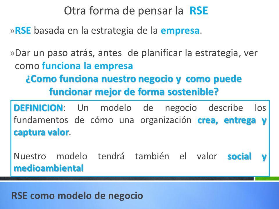 Otra forma de pensar la RSE