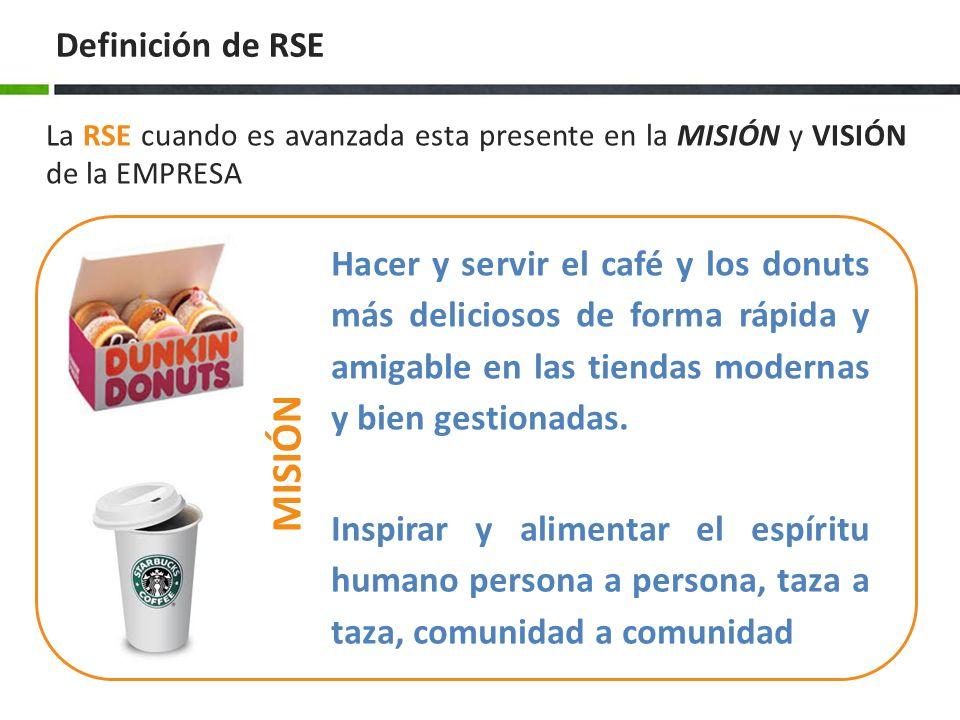 MISIÓN Definición de RSE