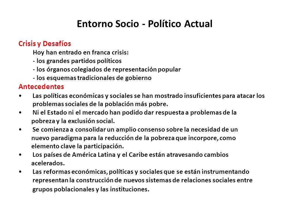 Entorno Socio - Político Actual