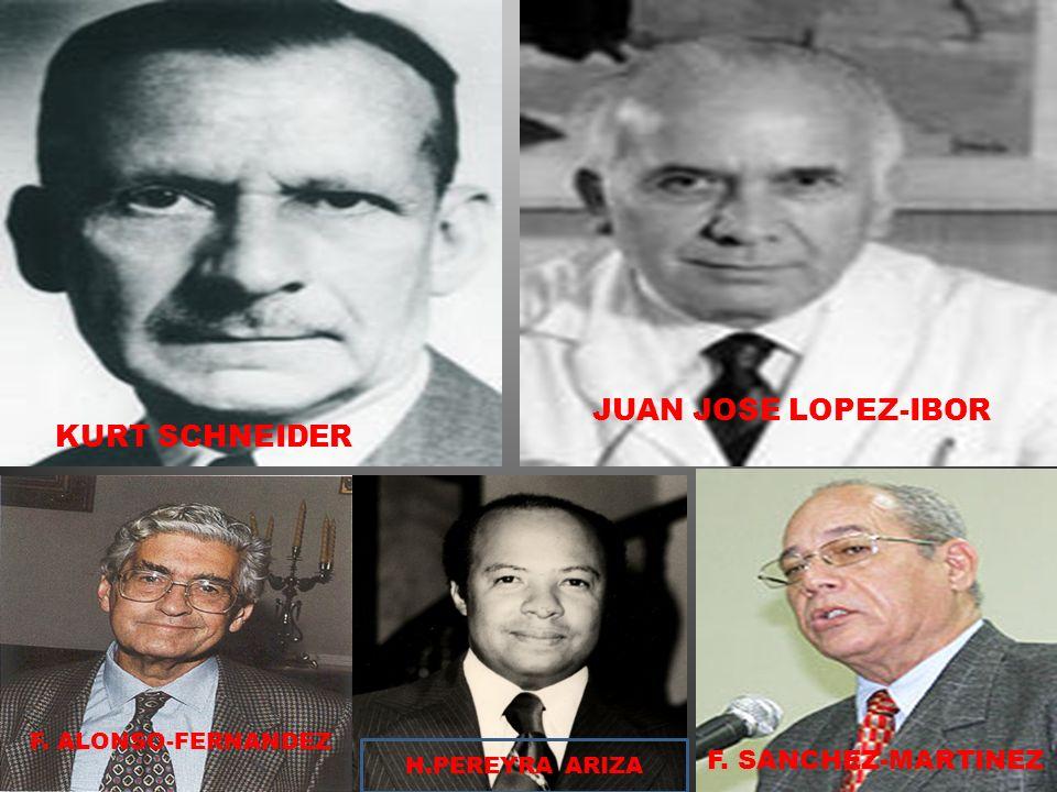 JUAN JOSE LOPEZ-IBOR KURT SCHNEIDER F. SANCHEZ-MARTINEZ