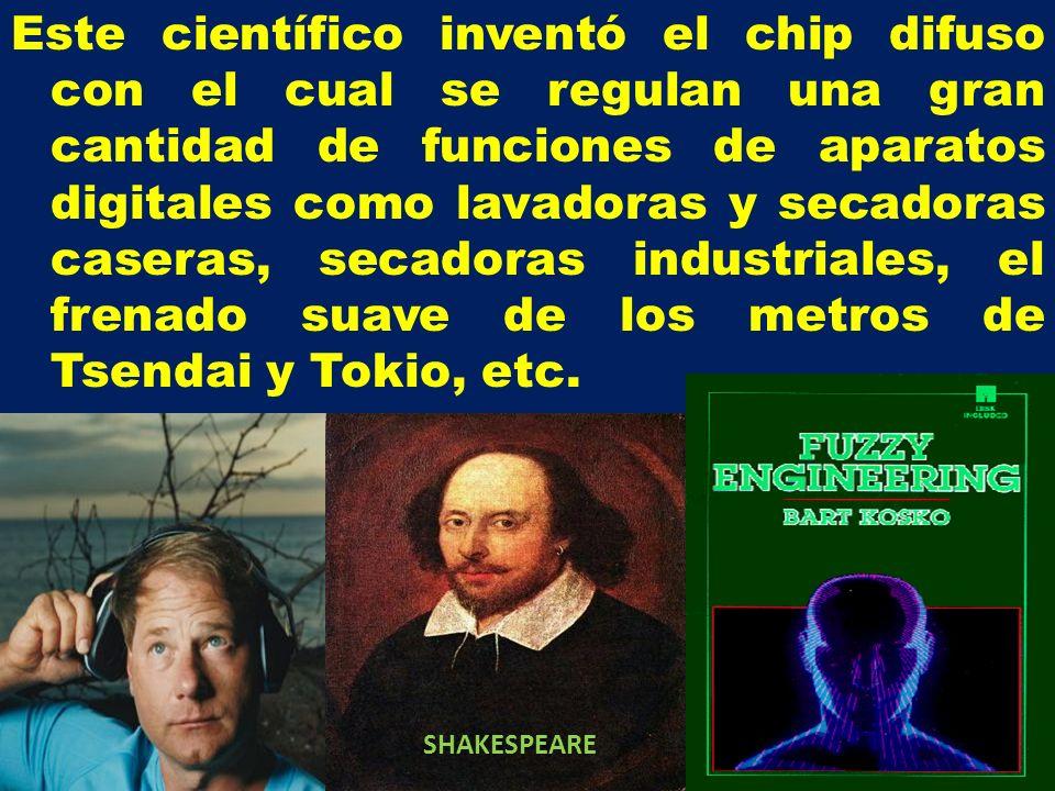 Este científico inventó el chip difuso con el cual se regulan una gran cantidad de funciones de aparatos digitales como lavadoras y secadoras caseras, secadoras industriales, el frenado suave de los metros de Tsendai y Tokio, etc.