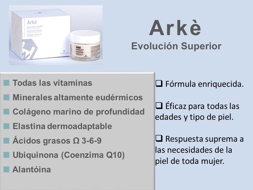 Arkè Evolución Superior Fórmula enriquecida.