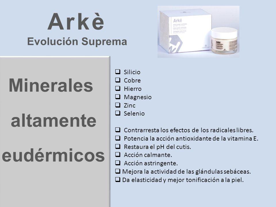 Arkè Minerales altamente eudérmicos Evolución Suprema Silicio Cobre