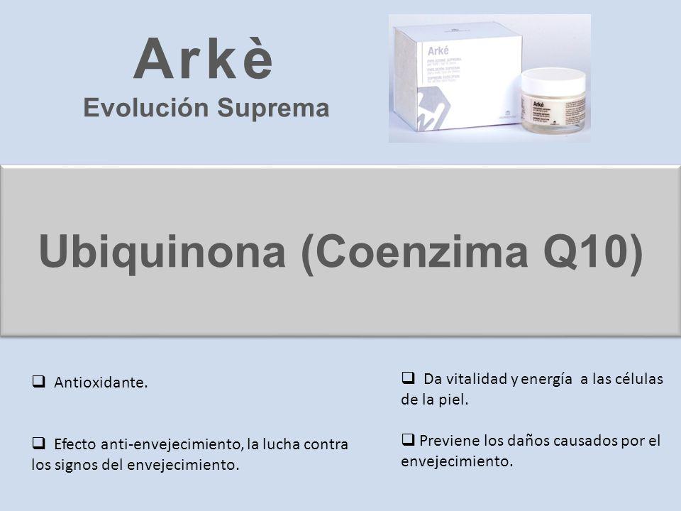 Ubiquinona (Coenzima Q10)